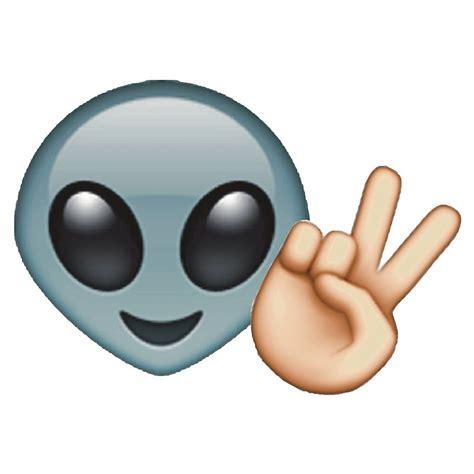 emoji alien quot alien peace emoji quot by jnxgny redbubble