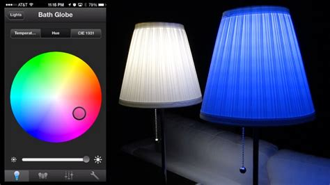 philips led color changing light bulbs philips hue led review and color changing app demos