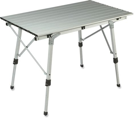 aluminium roll up table cing rei c adjustable roll table individually adjustable