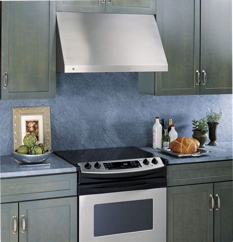 Ge 30 Inch Induction Cooktop Ge Jv936dss 30 Inch Wall Mount Range Hood With 600 Cfm