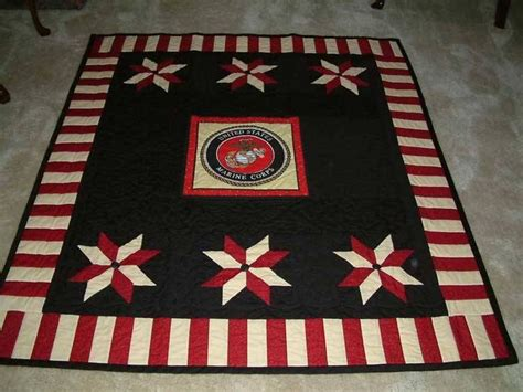 Marine Corps Fabric Quilting by Semper Fi Quilt God Bless The U S A Those That Serve