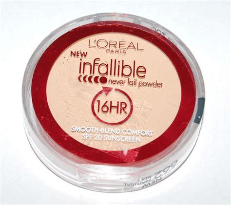 L Oreal Infallible Powder l oreal infallible never fail powder color buff 662