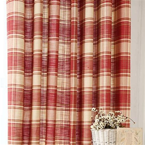 red and white plaid curtains awesome country plaid curtains gallery design ideas 2018
