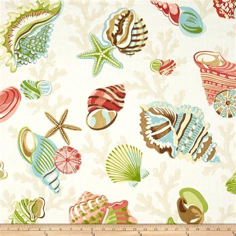 Washing Upholstery Fabric P Kaufmann Sea Shell Branch Pebble Discount Designer