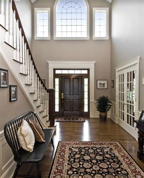 Best Colors For Foyers 1000 ideas about foyer staircase on split
