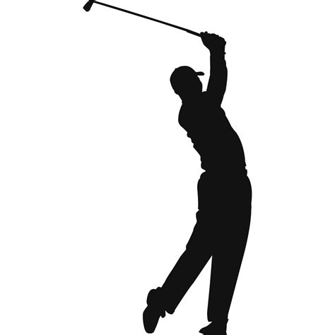 golf swing silhouette golf s clipart cliparting com