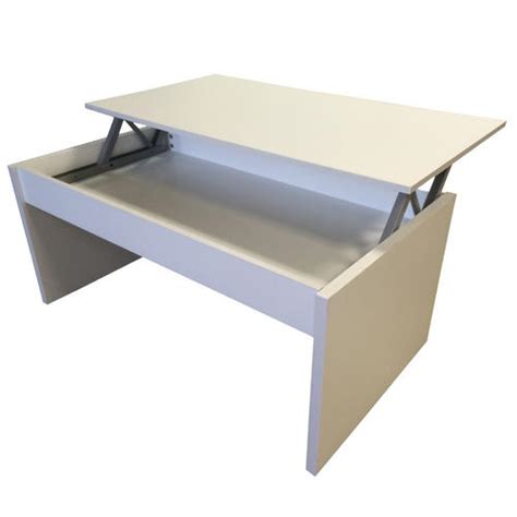 lift top coffee table with storage black white or beech