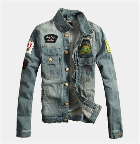 Jaket Pria Ukuran Big Size Jaket Denim Cowok Jumbo Besar coat jaket promotion shop for promotional coat jaket on aliexpress