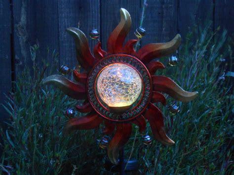 crackle solar lights crackle glass solar lights cool garden