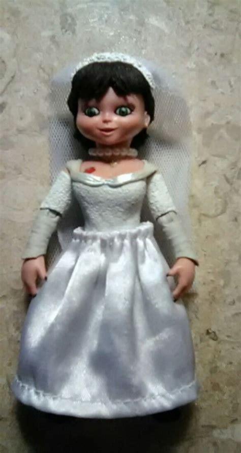 neca bride  chucky bridal pre makeover doll chucky