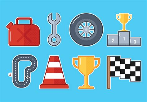Pit Stop by Pit Stop Icons Free Vector Stock Graphics