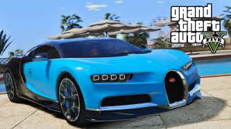 Gta 5 Cars Bugatti Gta 5 New 2016 Bugatti Chiron Fastest Car