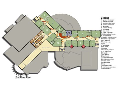 Floor Plans For Schools by High Of The Future Designshare Projects
