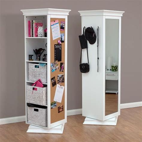 Display It Rotating Swivel Storage Mirror And Bookcase display it rotating swivel storage mirror and bookcase bedroom furniture great gifts at
