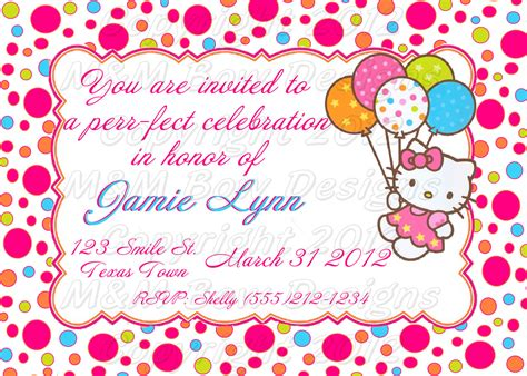 hello birthday card template free hello birthday invitation card template