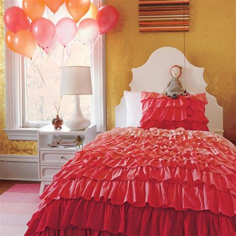 pink ombre comforter girls bedding pink ombre ruffled bedding set in girl