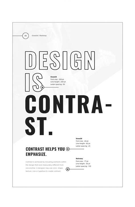 font design principles designer cleverly illustrates 5 key design principles