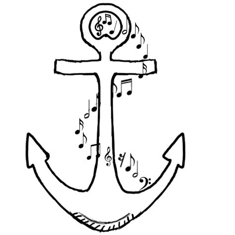 anchor pattern drawing anchor tattoo design by jmike31 on deviantart