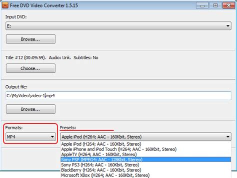 format of dvd how to convert dvd video step by step guide