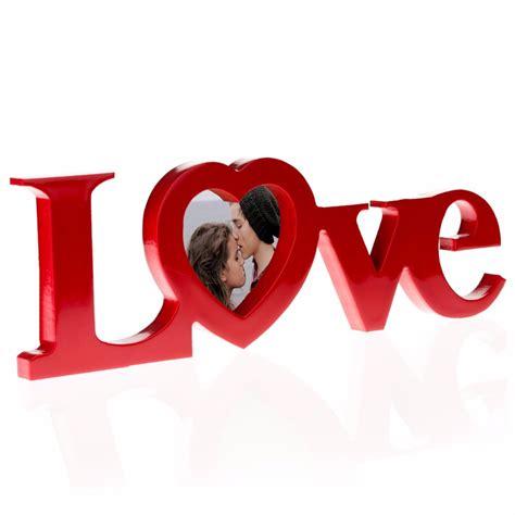 imagenes palabra love porta retratos forma de palabra love corazon rojo h4071