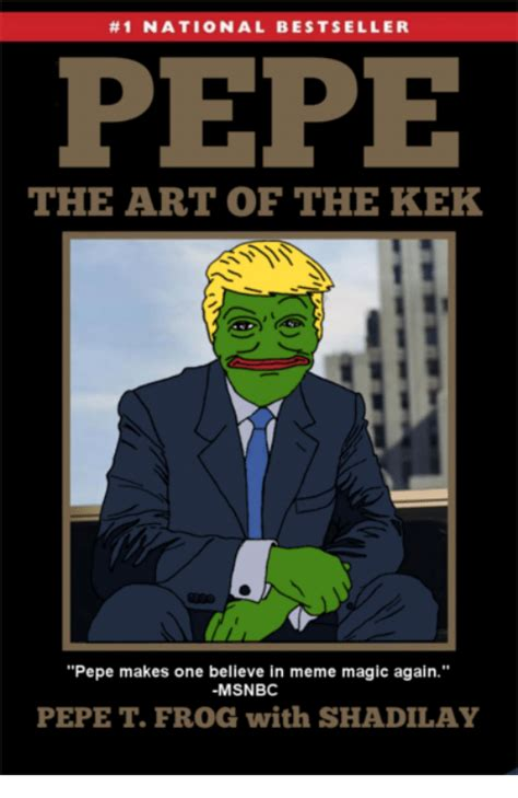 Kek Meme - 1 national bestseller pepe the art of the kek pepe makes
