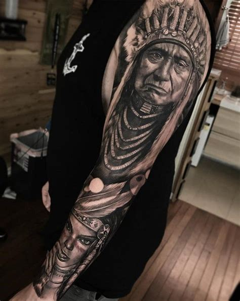 native american sleeve tattoo designs 70 american designs american