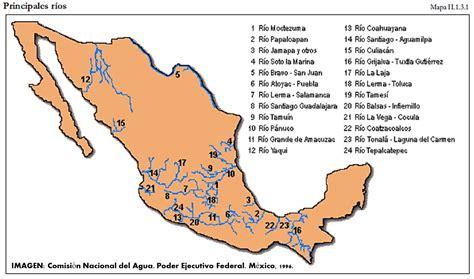mapa de mexico con rios m 201 xico sonrie con sonrisa magna hidrograf 237 a mexicana