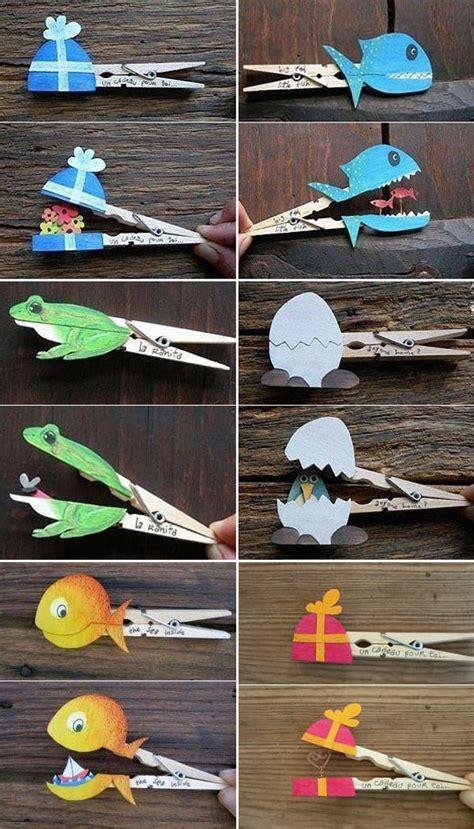 lavori da fare a casa manuali 20 idee per lavoretti con mollette di legno per bambini