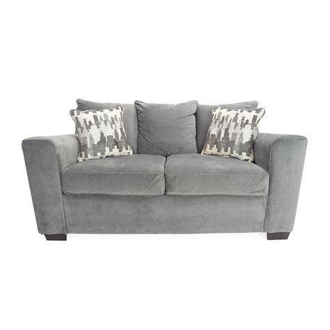 comfy loveseat 50 off beige leather loveseat sofas