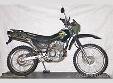 2000 Kawasaki KL250-G4 Super Sherpa - Moto.ZombDrive.COM Kawasaki 250 Ccm Enduro