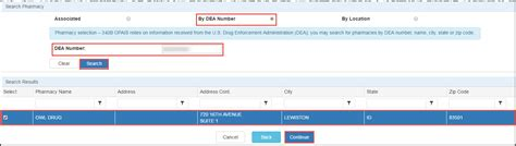 Dea Address Lookup Contract Pharmacy Registration