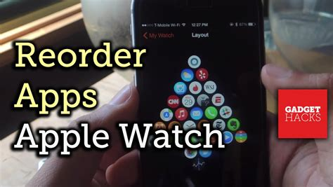 apple watch app layout reset change the layout of apps on your apple watch how to