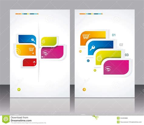 leaflet design template free 16 vector brochures templates images free vector