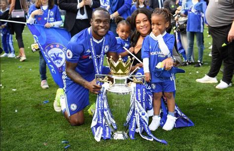 Victor Moses Victor Moses Wedding Photos With Time Partner In