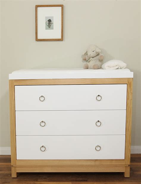 Small Modern Best Baby Changing Table Dresser With Leather Baby Changing Tables With Drawers