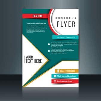 flyer design brief template briefpapier ontwerp vector gratis download