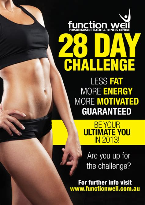 28 day challenge 28 day challenge function well