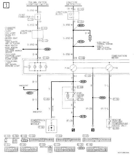 2002 montero instrument cluster wiring diagram instrument cluster regulator wiring diagram