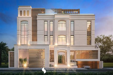 Modern Home Design Plans 375 m private villa kuwait by sarah sadeq architects