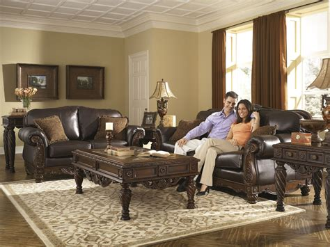 north shore living room set north shore dark brown living room set from ashley 22603