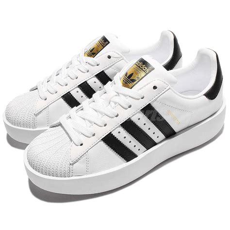 adidas sneakers classic adidas originals superstar bold platform w white gold