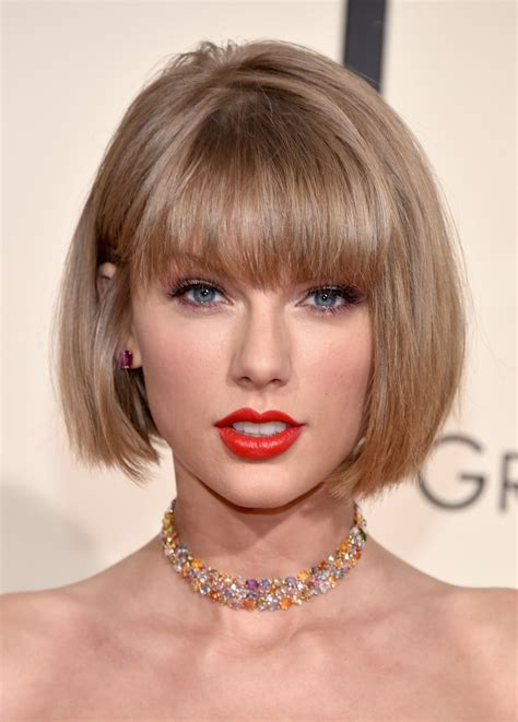 change bob hairstyle makeup beauty hair skin taylor swift just made a