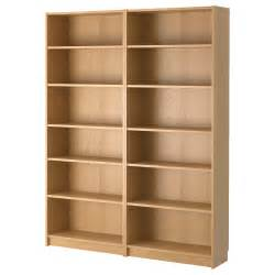 billy bookcase oak 160x202x28 cm ikea