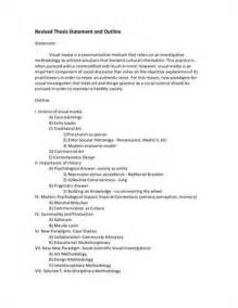 Thesis Statement Exles For Narrative Essays by Essay Thesis Statement Owll Massey