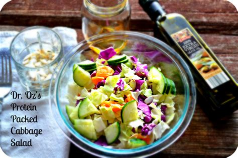 Cabbage Detox Drink by Dr Oz Inspired Cabbage Salad To Flush