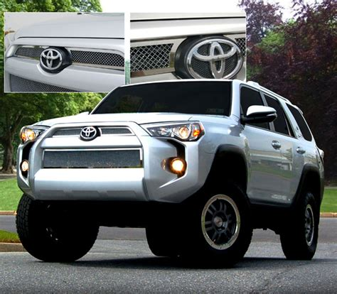 Toyota 4runner Grill Toyota 4runner Mesh Grille 2014 2015 Shopsar