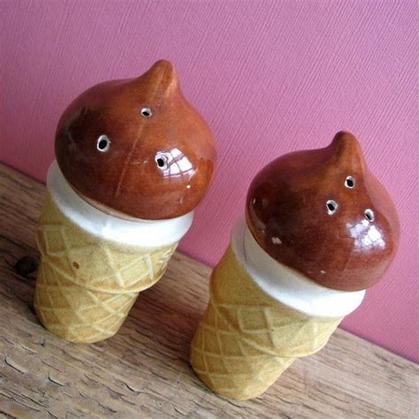 cute salt and pepper shakers cute ice cream salt and pepper shakers im a dork