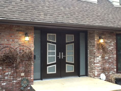 Installed By Northview Contemporary Front Doors In Exterior Doors Calgary