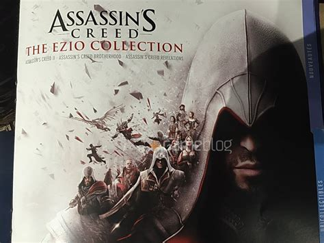 Kaset Ps4 Assassins Creed The Ezio Collection assassin s creed the ezio collection fecha de