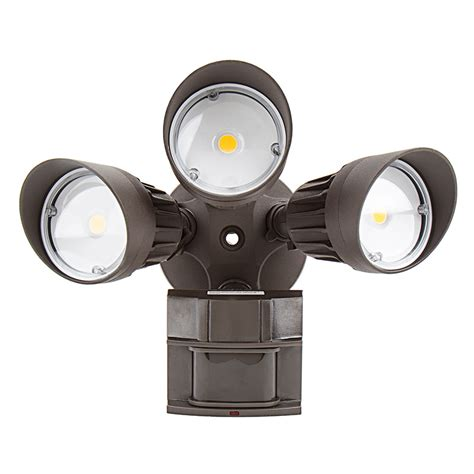 security light with led motion sensor light 3 security light 30w
